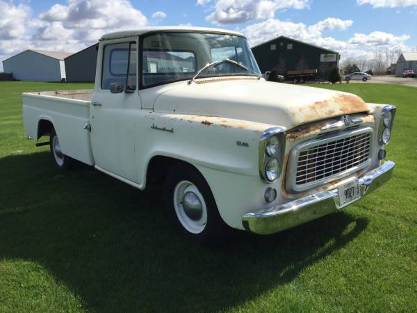 1960 International B110 Pick Up Truck