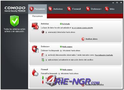 Comodo Internet Security Premium 10.0.1.6254 Terbaru Gratis
