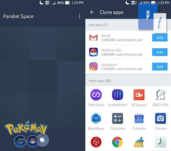 Cara Bermain 2 Akun Pokemon GO dalam Satu Hp atau Smartphone