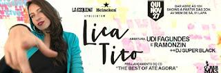 Lica Tito sobe ao palco do La Esquina com seu novo projeto ''The Best of Até Agora''