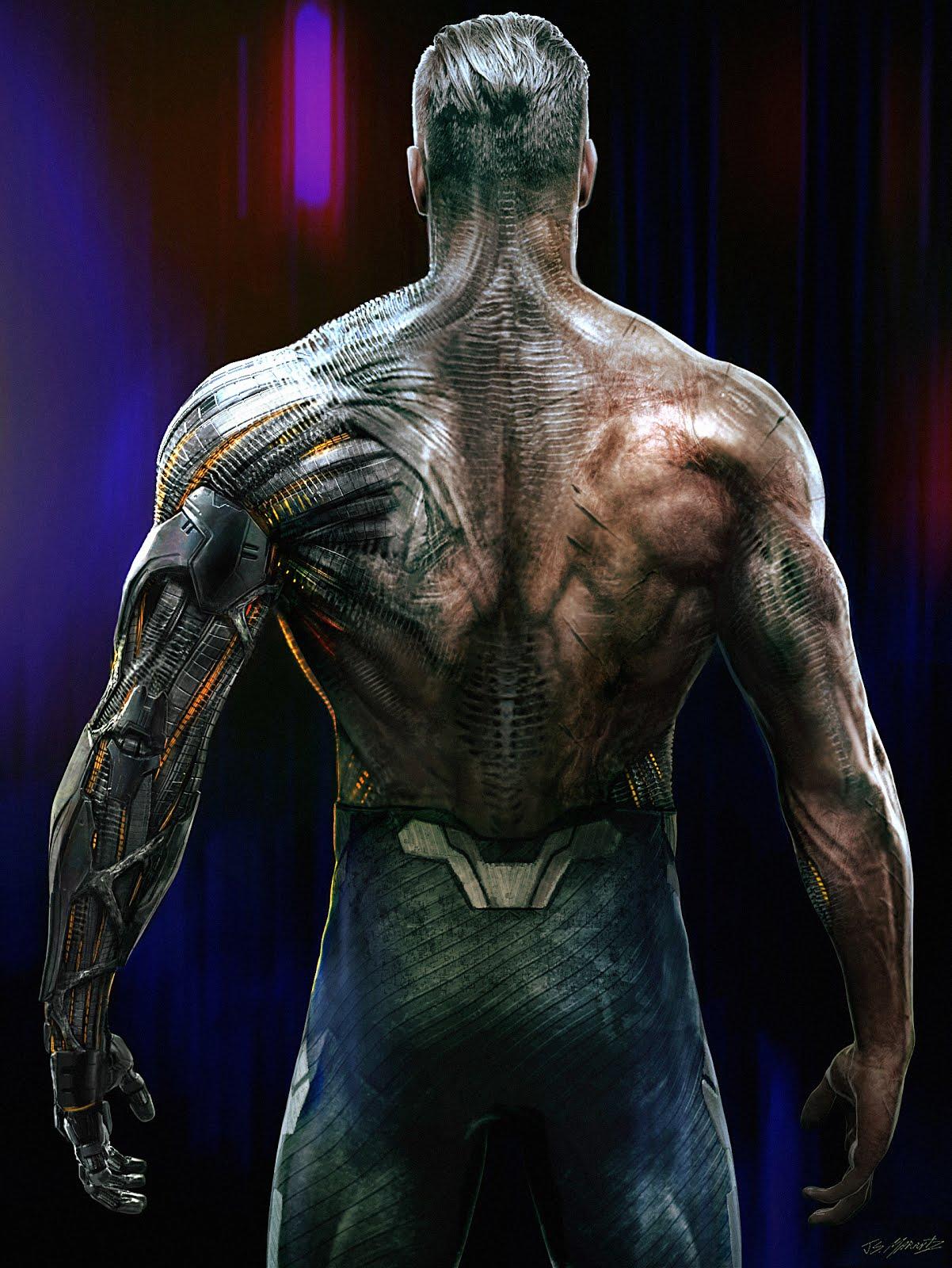 Deadpool 2 Cable Concept Art