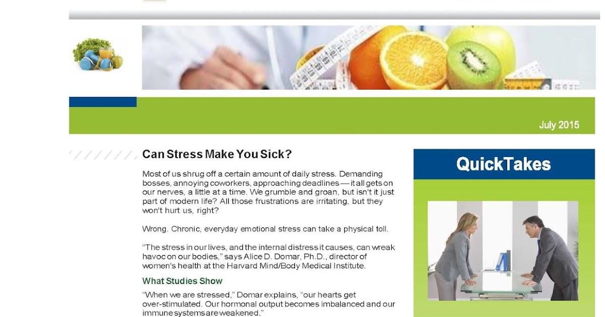 Fresh Start Outreach Ministry : Wellness Works Newsletter