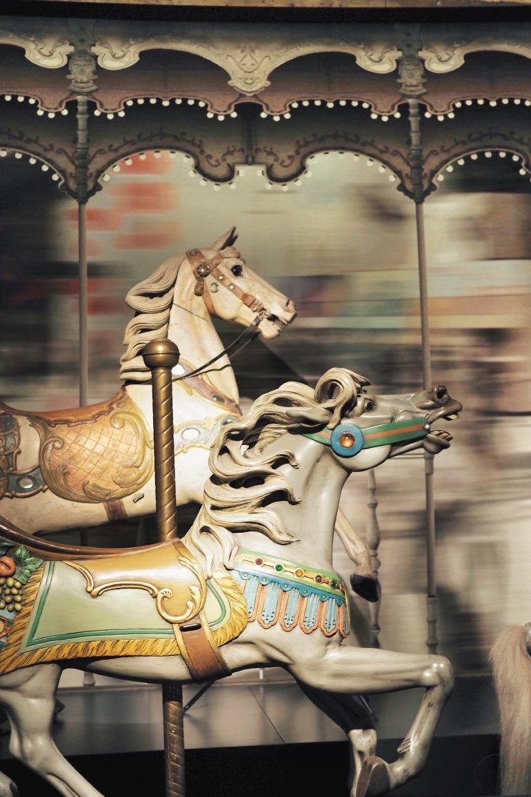 Visite du musée du cheval à Chantilly