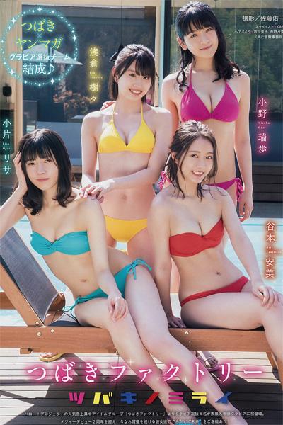 Tsubaki Factory (つばきファクトリー), Young Magazine 2019 No.21 (ヤングマガジン 2019年21号)