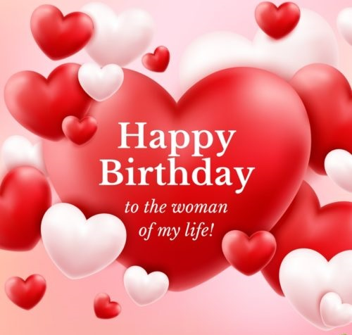 Birthday wishes quotes  for wife in English