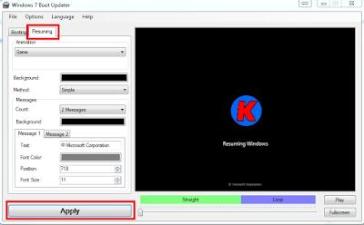 Cara Mudah Mengganti Logo Start Windows 7 saat booting (Pertama Di Nyalakan)