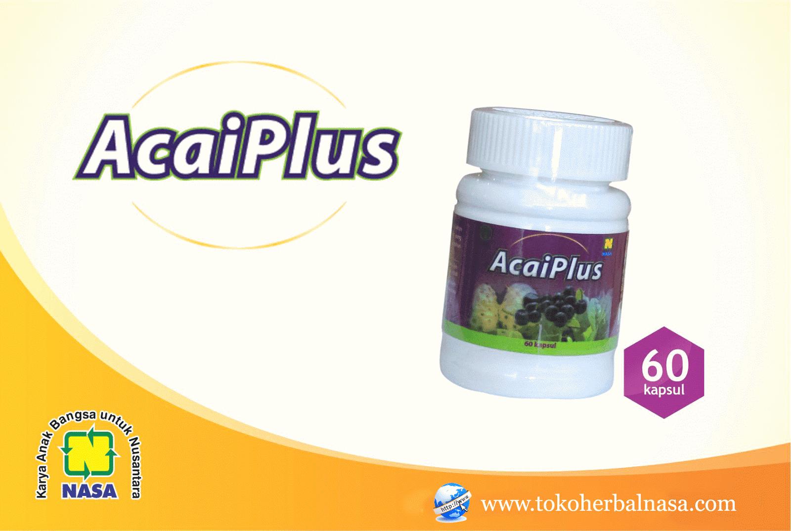 Herbal Acaiplus Pelangsing Alami Tanpa Efek Samping ...