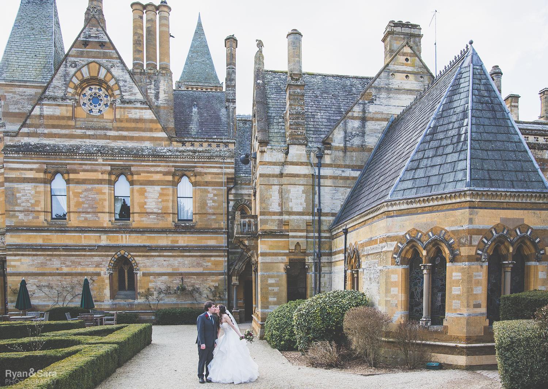 ettington park hotel, spring wedding