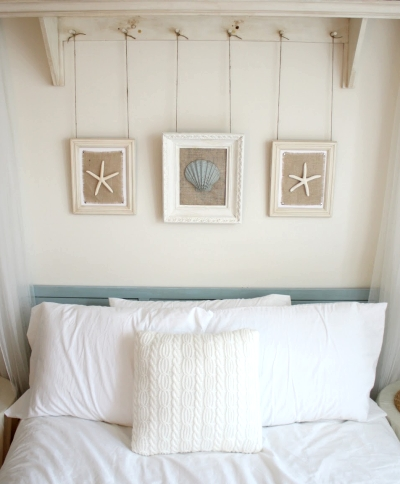 Framed Seashells (10 Summer Seashell Decor Ideas)   #decor #decorating #seashells #beach #summer #sea