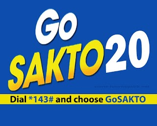 Globe GOSAKTO20 – 1 Day Unlimited Call, Text to all Networks and Data