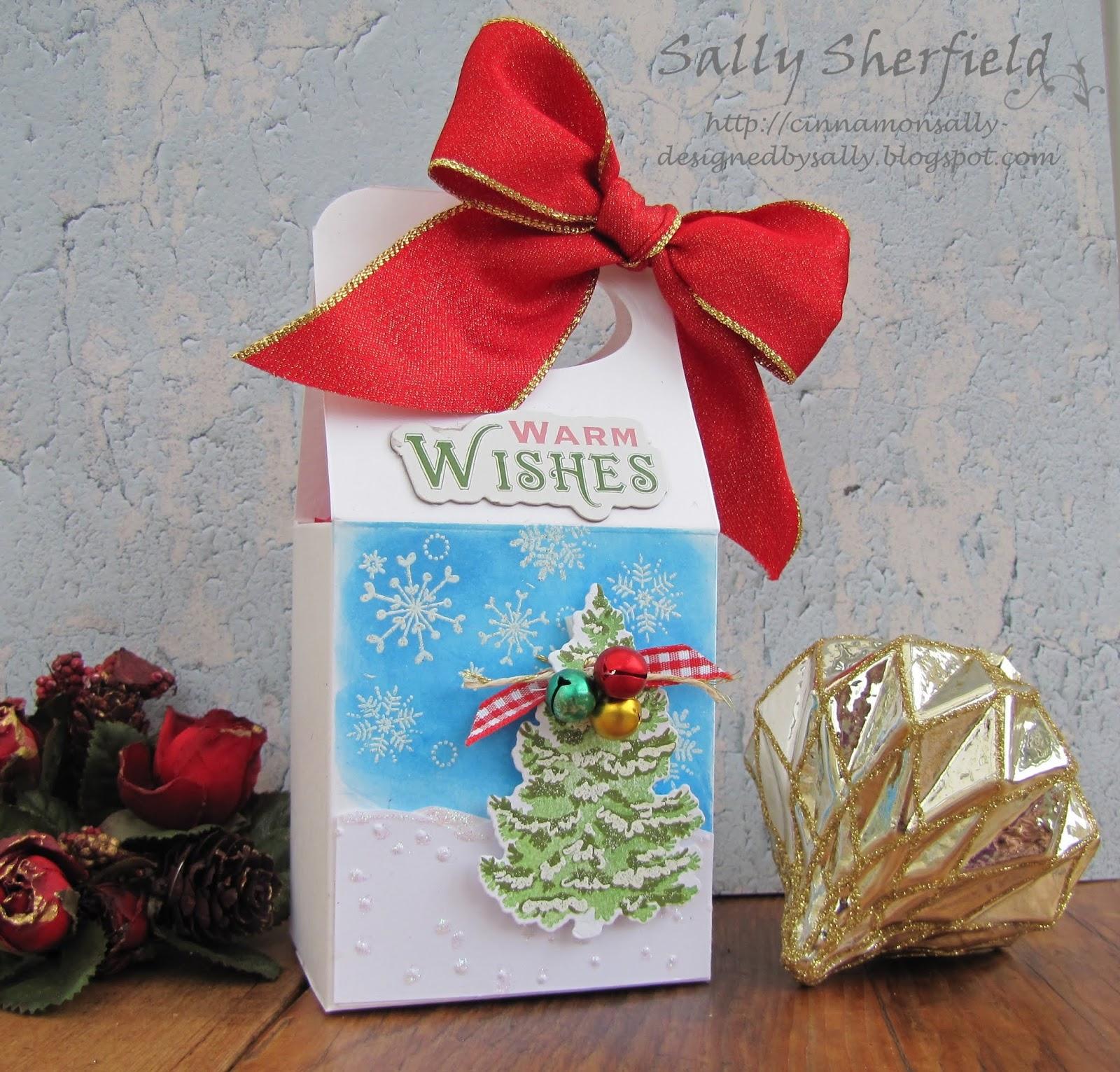 a christmas gift box