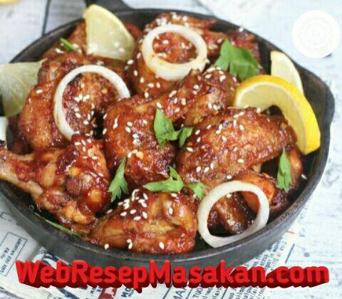 Spicy Chicken Wings, Resep spicy chicken wings,