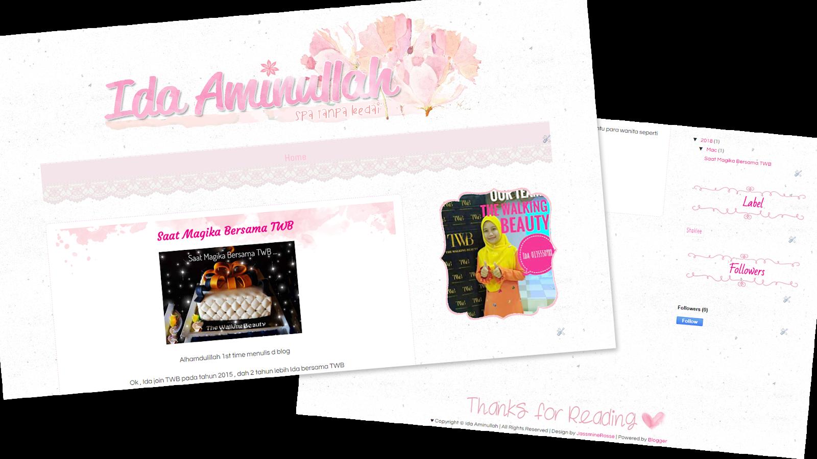 Ida Aminullah Blog