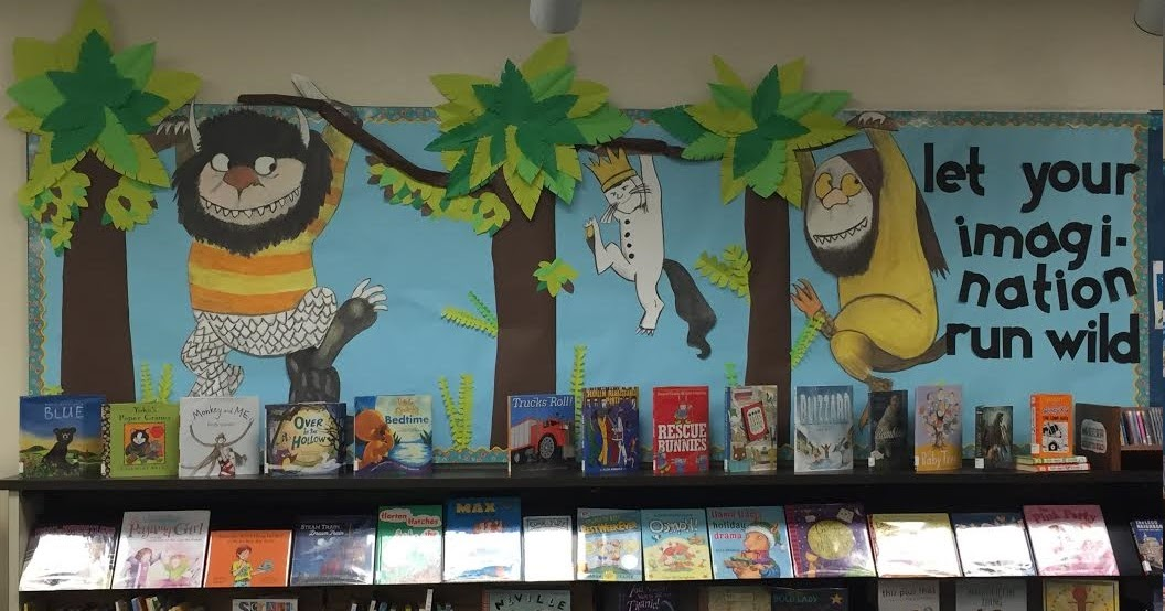 Where The Wild Things Are bulletin board The Learning Curve