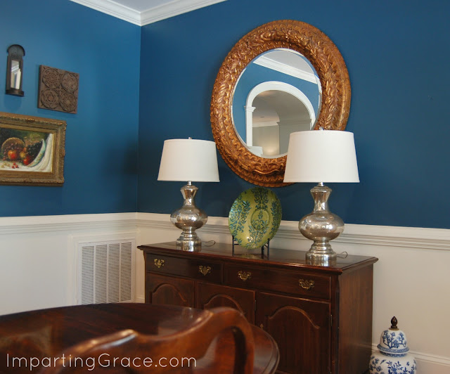 Imparting Grace: Dining Room Changes