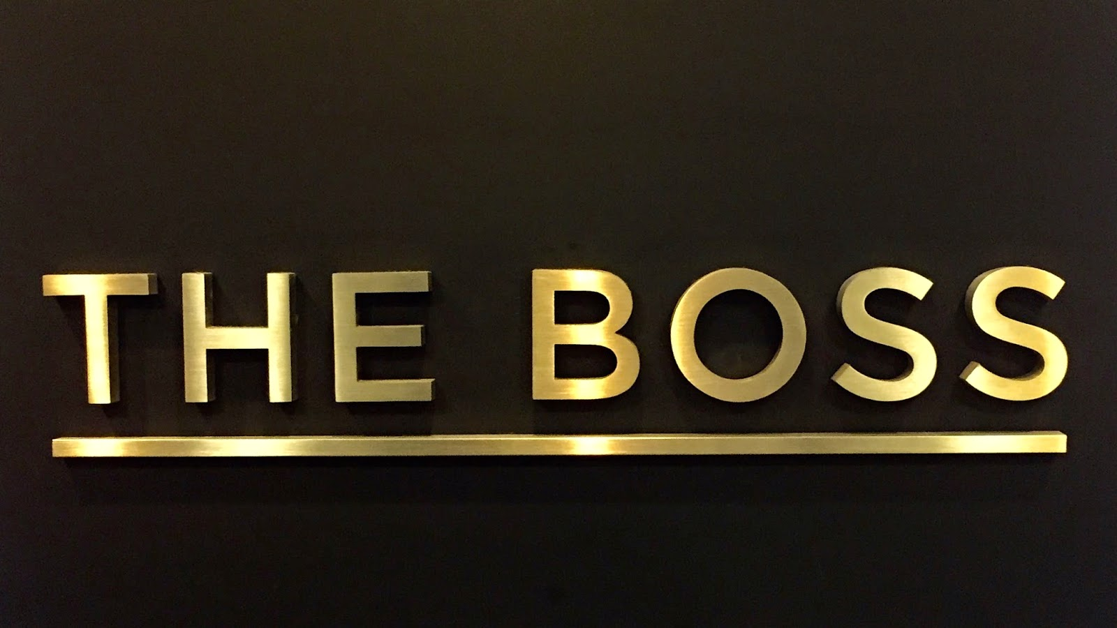the boss - photo #43