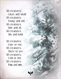 All Creatures (Threaded) Copyright 2016 Christopher V. DeRobertis. All rights reserved. insilentpassage.com