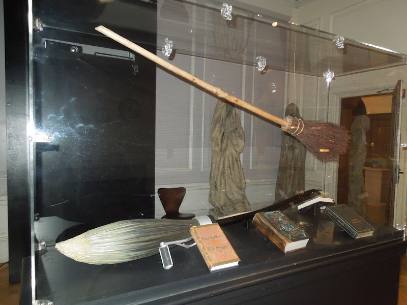 Harry Potter broomstick props