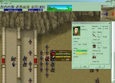The Legend of Cao Cao ฉบับดั้งเดิมในระบบ Windows PC