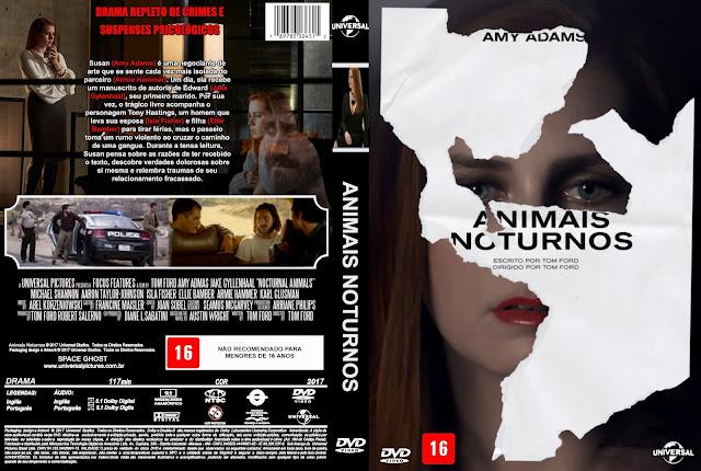 Capa DVD Animais Noturnos