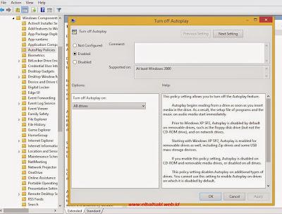 Tips Mudah Cara Mematikan AutoRun Windows