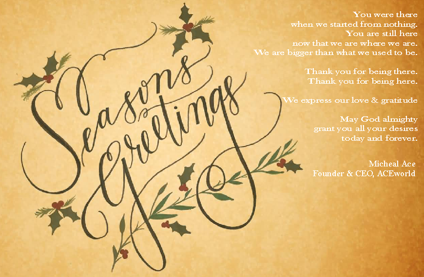Season Greetings