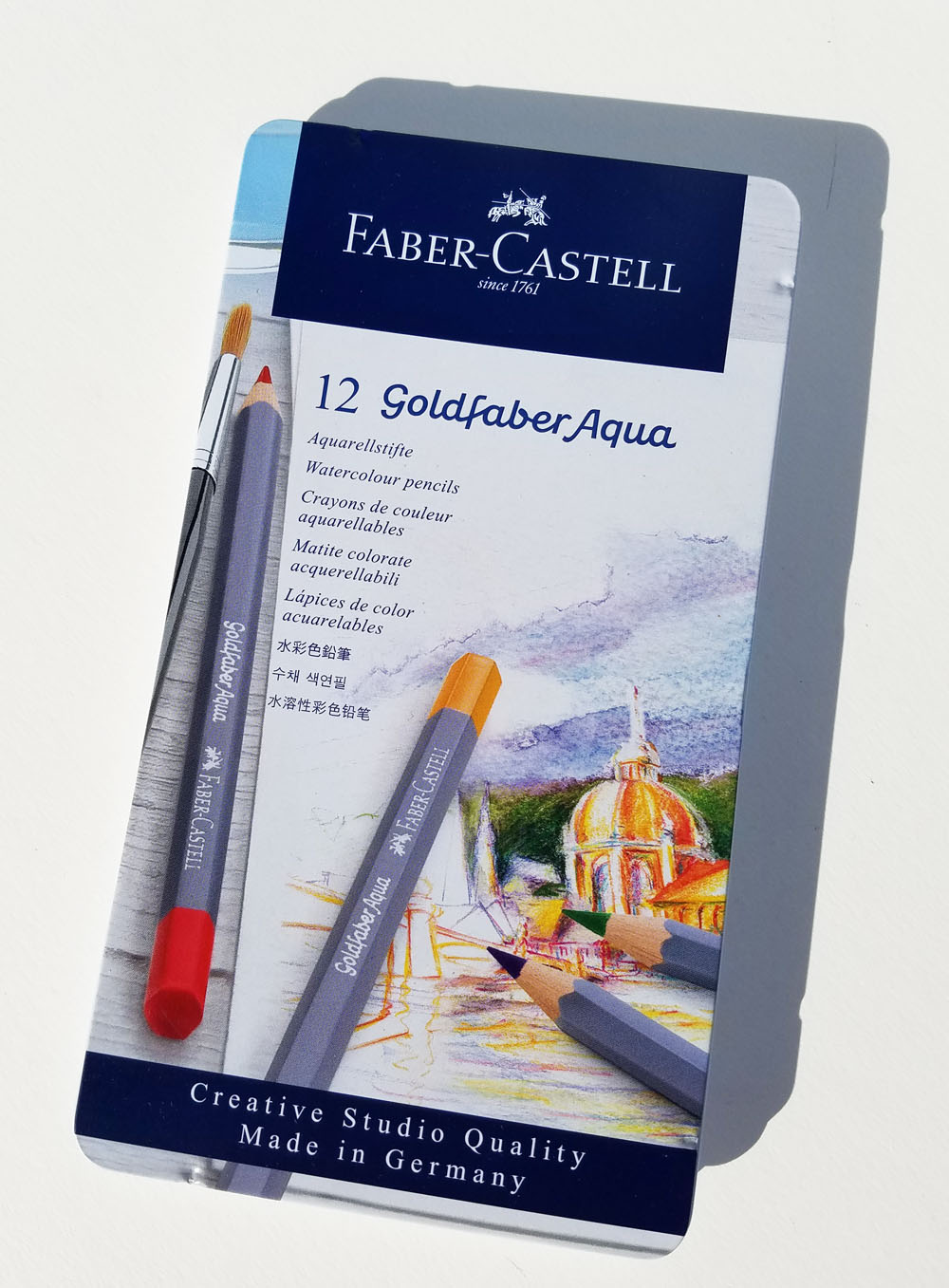 Fueled By Clouds Coffee Product Review Faber Castell Goldfaber Colour To Life Aqua Colored Pencils Albrecht Durer Comparison