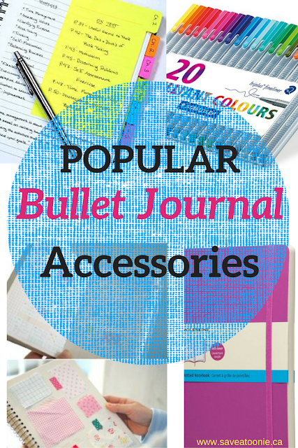 Most Popular Products for Bullet Journaling