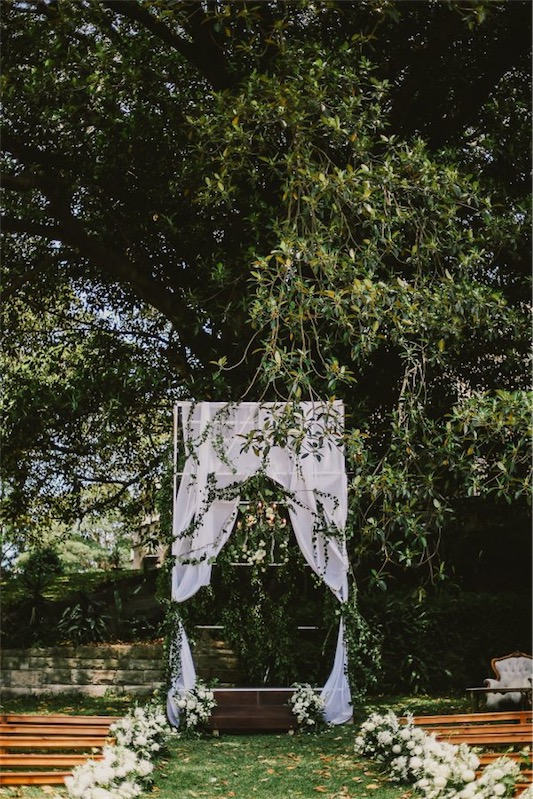 decorar boda inspirada en un jardín secreto chicanddeco