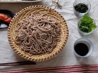 マタタビ蕎麦ざる写真
