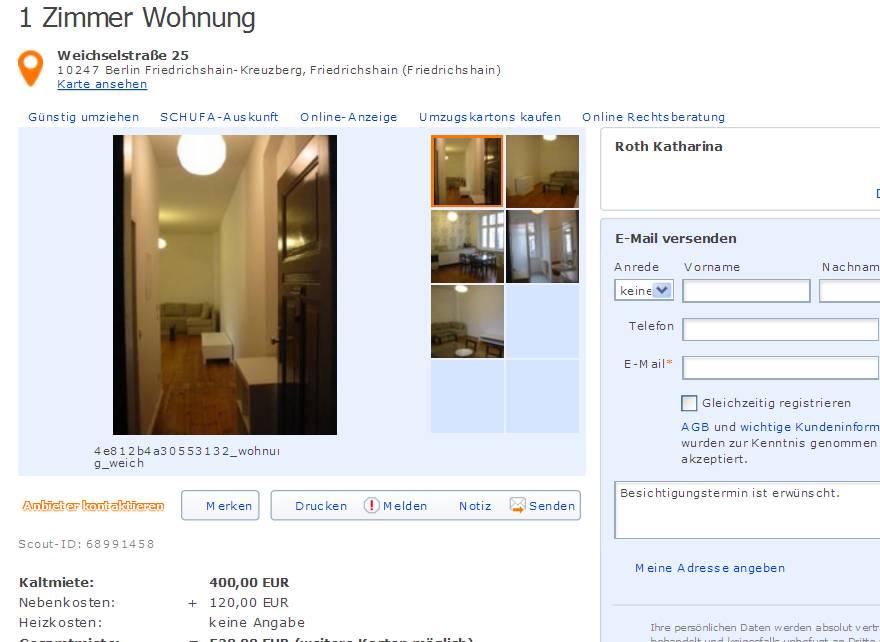 Single wohnung berlin friedrichshain
