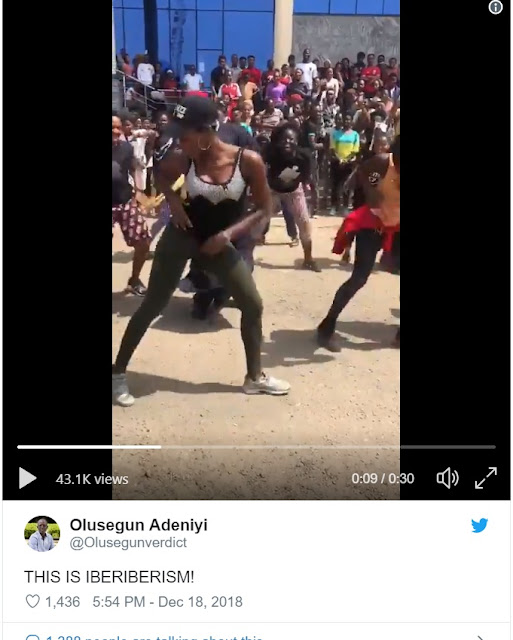 Gov. Okorocha Seen Break-dancing With Students At A Graduation Party (Video)