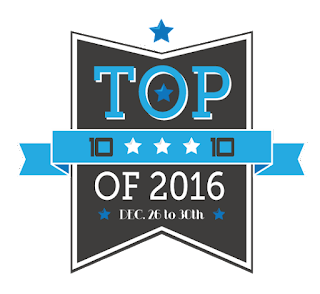 Top Ten of 2016 {Best YA Romances}