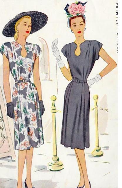 Sukienki po wojnie
