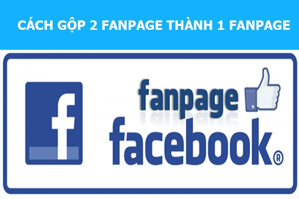 gop 2 fanpage thanh 1 fanpage