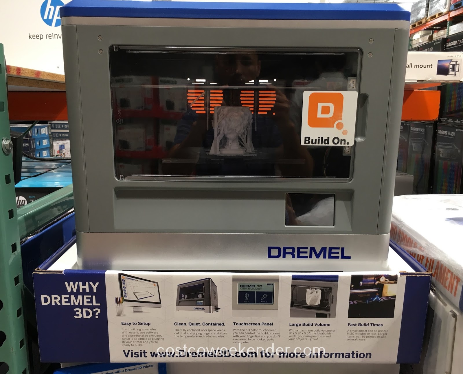 Location Dremel Dremel Idea Builder 3d Printer Costco Weekender