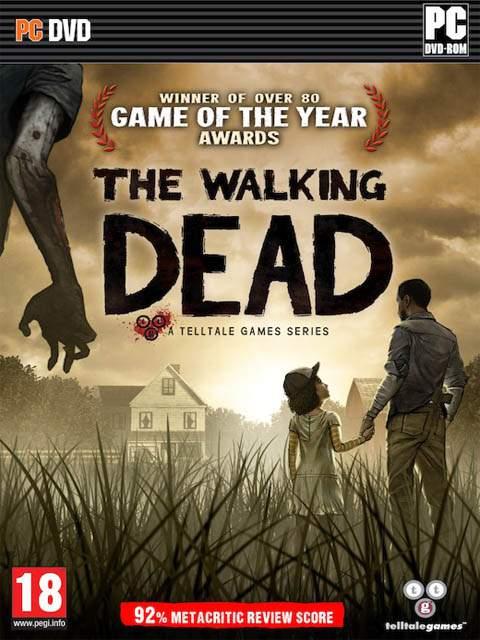 تحميل لعبة The Walking Dead Episode 1 مضغوطة برابط واحد مباشر كاملة مجانا