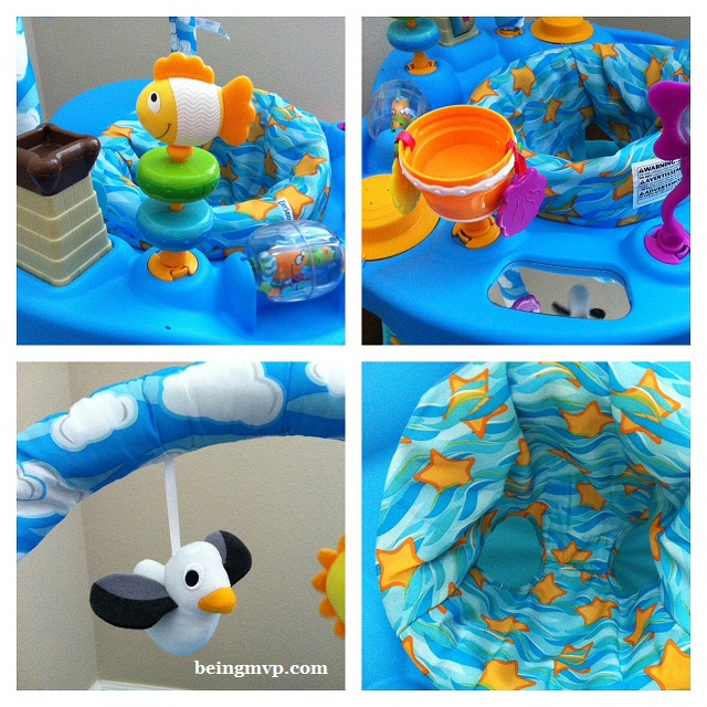 Being Mvp Evenflo Exersaucer 174 Bounce Amp Learn Day At The