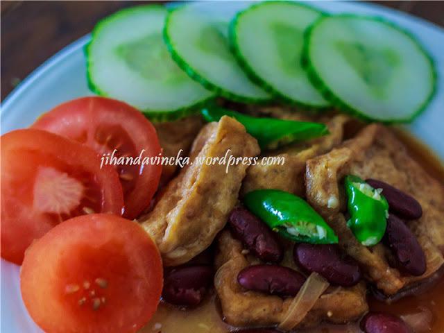 Resep Food Combining Semur Tahu Kacang Merah
