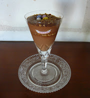 mocha and amaretti mousse