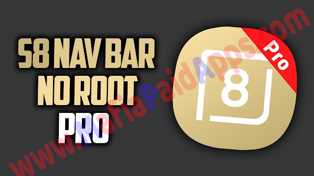 S8 Navigation bar PRO (No Root) Simple control v1.3.0 [Unlocked] Apk for Android