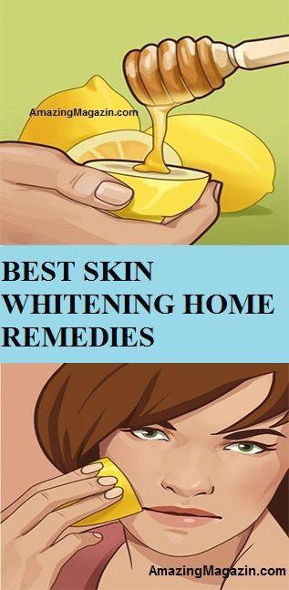 BEST SKIN WHITENING HOME REMEDIES