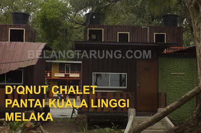 D'Qnut Chalet Kuala Linggi Melaka
