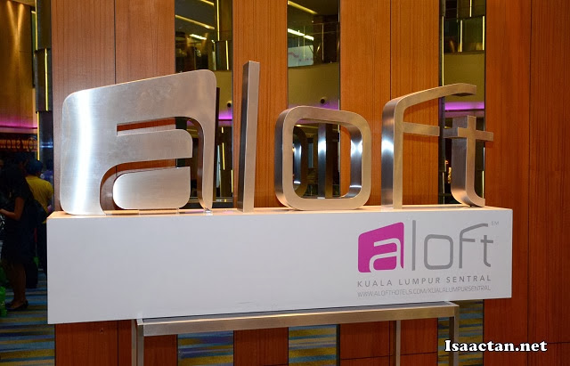 A nice hotel to hold a product launch, Aloft KL Sentral