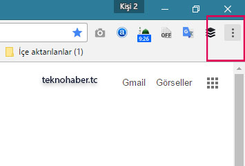chrome Ayarlar