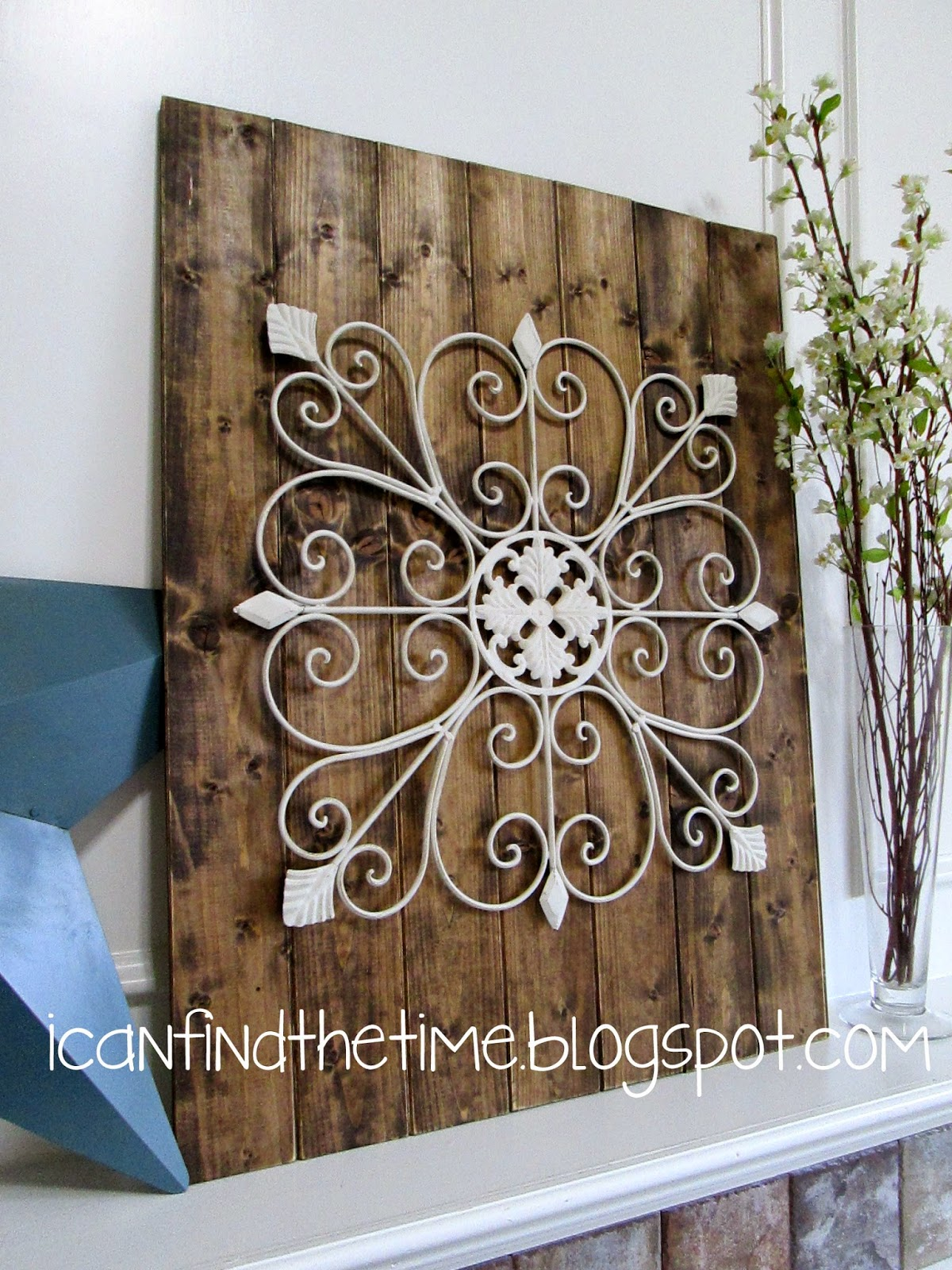 Wood and Metal Wall Art