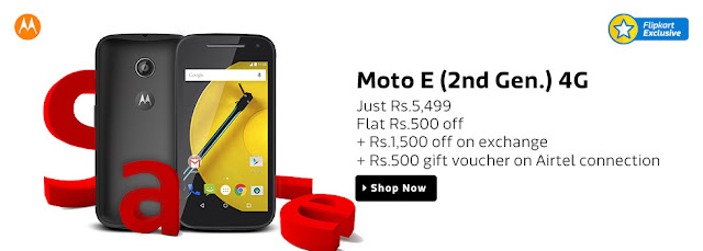 Motorola brings special price and exchange offers on Flipkart's Big App Shopping Days