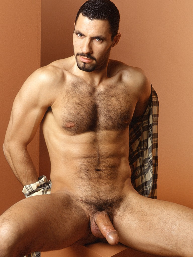 Necessary words... Hotnaked hairy male model for
