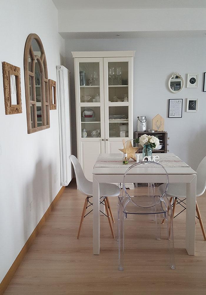 Nuovo colore alla parete del soggiorno! - Home Shabby Home ...
