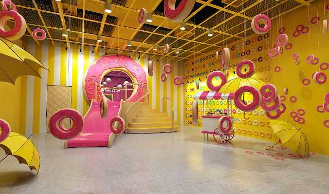 The Dessert Museum - Donut Room